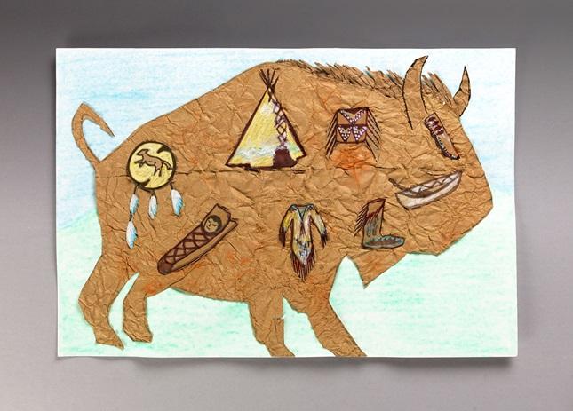 Begin With A Buffalo Crayola Com