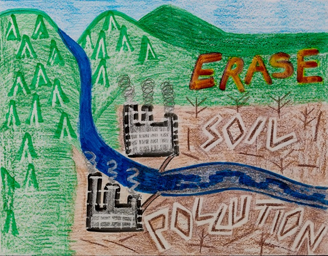 Erase It! Soil Pollution lesson plan