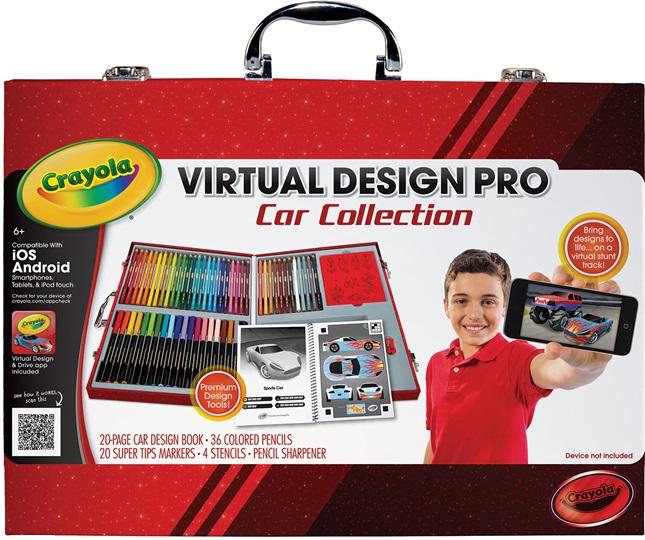 Virtual Design Pro Car Collection Product Crayola Com