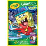 giant coloring pages nickelodeon spongebob squarepants