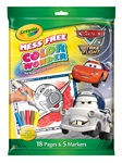 Color Wonder Cars Supercharged Coloring Book & Markers
