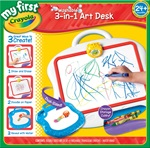 My First Crayola 3 in 1 Art Desk