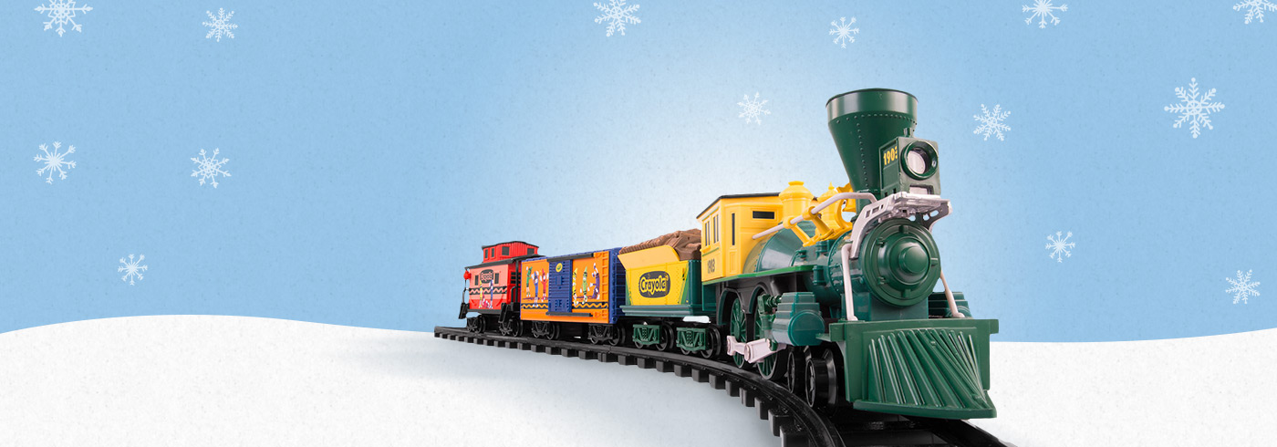 New Crayola Lionel Trains
