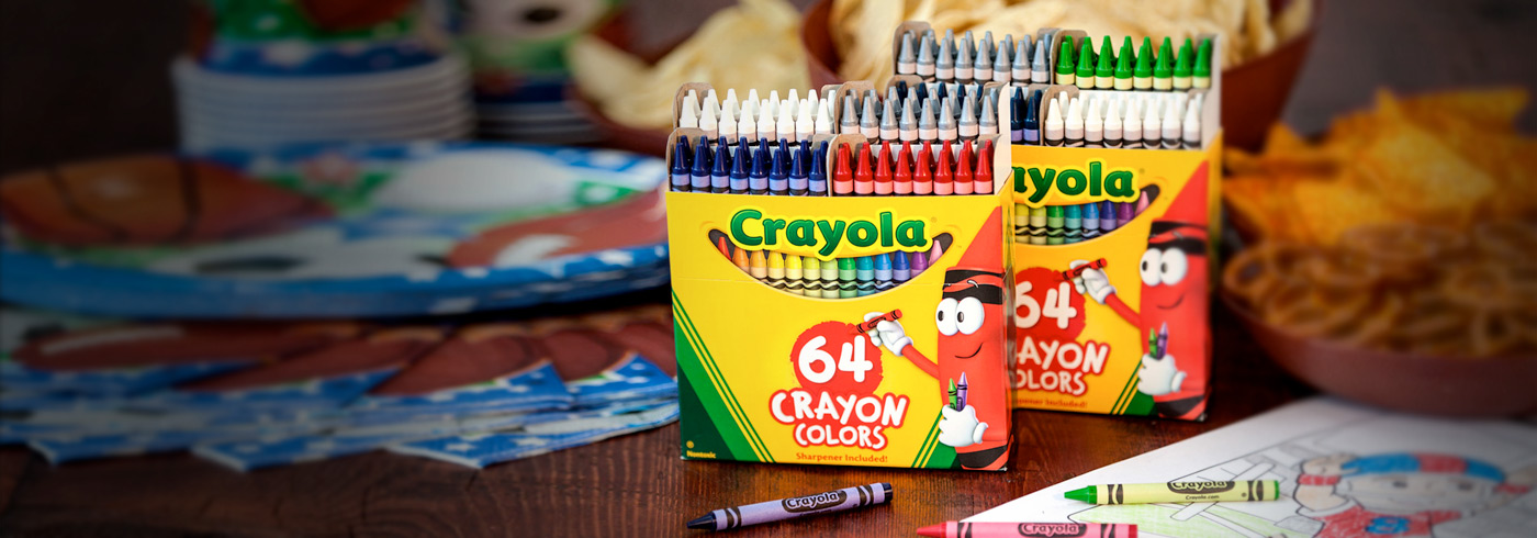 create a custom 64 crayon box any fan will love