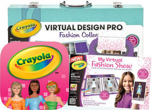 Crayola Virtual Design Pro Fashion Collection Australia