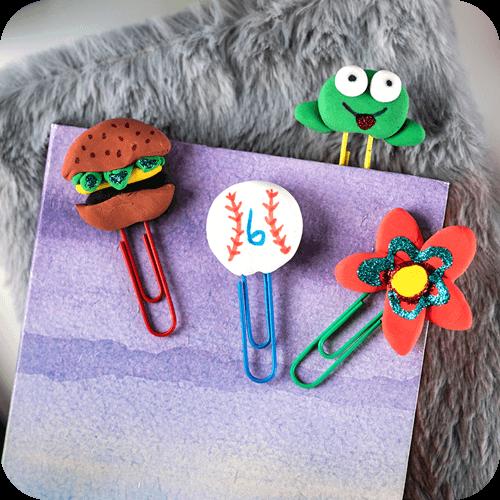 Crayola Create It Yourself Model Magic Bookmark