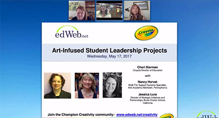 Art-Infused Student Leadership Projects