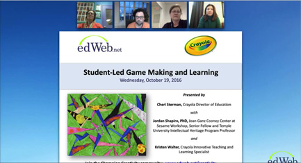 Student-Led Game Making and Learning