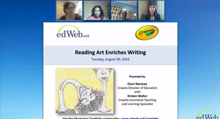 Reading Art Enriches Writing